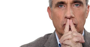 Man thinking about the challenges of his company culture